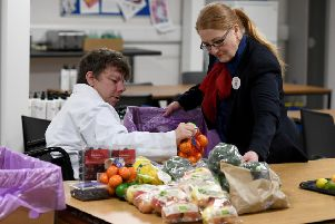 Tesco's Cumbernauld store have donated more than 26,000 meals to date.