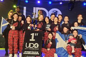 Kilsyth's Dejavu Dance studios won two European Championship awards