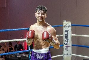 Cumbernauld boxer Andy Tham (pic by St Andrews Sporting Club)