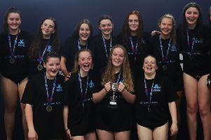 Kirkintilloch & Kilsyth ASC Water Polo Under 19s are Scottish Cup winners (pic by Ian MacNicol for Scottish Swimming)