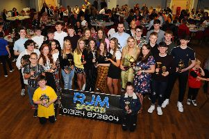 The award winners on another successful night. Picture Michael Gillen.