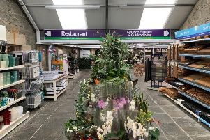 The new Caulders Garden Centre in Cumbernauld has been refurbished since it was purchased  from Dobbies