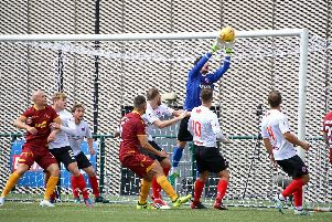 Clyde played Motherwell's senior team at Broadwood in last season's Betfred Cup (pic by Craig Black Photography)