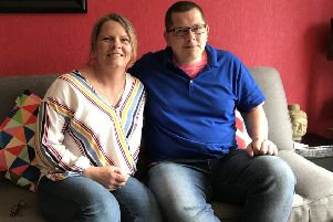 Marc and Linzie Connor opened their Cumbernauld home to 'Calum' four years ago