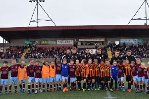 Masterclasses...were held at Stenhousemuir FC for local youth teams, with pre match and half time activities during home ties for around 300 children.