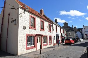 The driver was stopped in Eyemouth High Street.