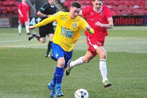 Craig Murray was on target for Cumbernauld Colts against East Kilbride