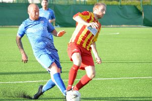 Chris Reid was on target for Kilsyth Rangers (archive pic, courtesy of HT Photography/@dibsy_)