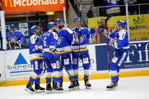 Fife Flyers v Nottingham Panthers. Pic: Steve Gunn