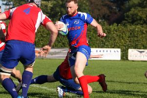 Kirkcaldy captain Josh Laird suffered a recurrence of his hip injury against GHK on Saturday. Pic: Michael Booth