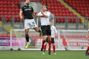 Ray Grant admitted Clyde weren't up to the standard required against Montrose (pic: Craig Black Photography)