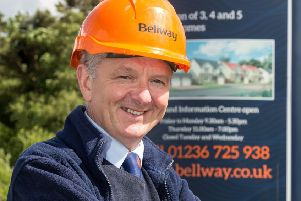 Bellway site manager George Carty