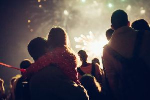People are being encouraged to attend one of the many public Bonfire Night displays across the country, instead of holding their own fireworks party.
