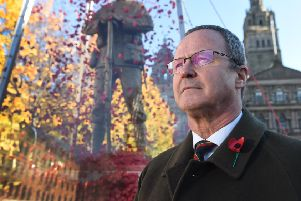 Poppy Scotland's Chief Executive Mark Bibbey (Photo: Mark Owens / HQ Scotland)