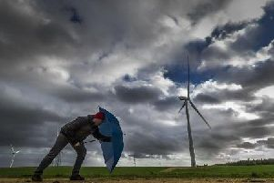 The Met Office is warning of strong winds as Storm Helene blows in.