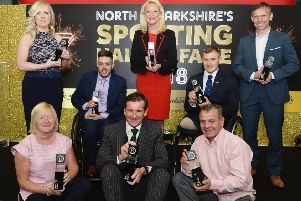 North Lanarkshire Sporting Hall of Fame class of 2018