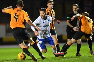Berwick were defeated 5-0 at home by Peterhead in the game prior to Saturday's 4-0 loss at Annan