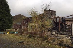 The  hotel was ravaged by fire in 2014