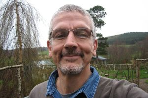 Mike Powell, from Aboyne, has lived with the condition for five years. Picture: Parkinson's UK.