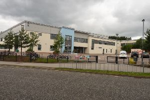 The vandalism occurred at Hill of Banchory School