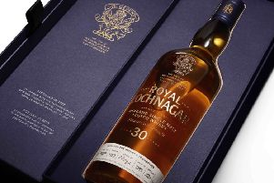 The final 20 bottles from the Duke's 1988 cask will be auctioned this month