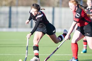 Jessica Main, in action over the weekend for Fjordhus Reivers 5s.