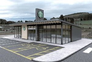 Plans for a Starbucks drive-thru at Westhill are facing opposition
