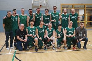 Banchory Stags 76  BC Lithuanica 62'The Stags capped their 25th year as a club in the most emphatic manner possible by winning the Scottish Basketball Association's Chairman's Cup