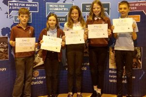 Kintore School came in third place following a tie-break question