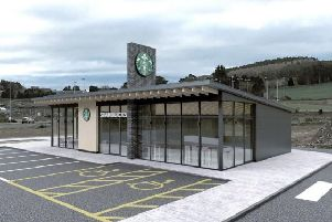 A decision was deferred on plans for a Starbucks drive-thru at Westhill