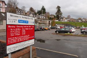 The changes to fees apply to pay and display car parks