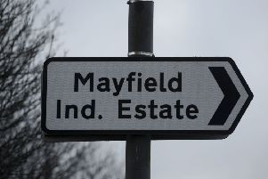 Officers on patrol stopped a vehicle in the area of Mayfield Industrial Estate, Mayfield