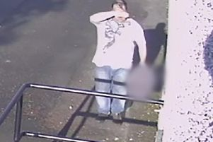 The Scottish SPCA has released CCTV images of a male they believe can assist with their enquiries