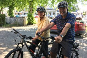 The E-bikes will be at Aboyne Farmers' Market on Saturday