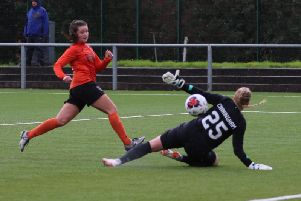 Clare Shine was Glasgow City's matchwinner against Celtic (pic: Tommy Hughes)