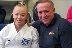 Emma Ruthven and her proud dad Andrew (Submitted pic)