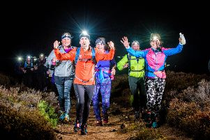 Illuminator Run, Aboyne and Glen Tanar, October 28th 2017.  Created by Firetrail Events