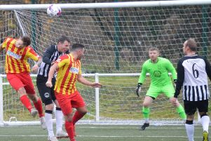 Rossvale were made to pay for missed chances against Cumnock (pic: HT Photography/@dibsy_)