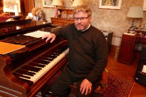 James Clapperton's music has brought new life to Roscobie House