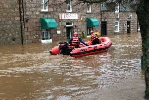 Ballater following Storm Frank