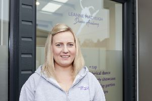 Leanne Mackay is proud of her new dance academy studio