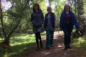 Staff take part in regular lunchtime walks