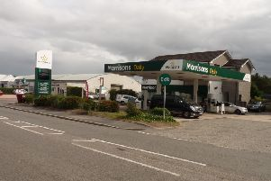 Morrisons Petrol Station in Banchory