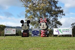 Mid Deeside's eye-catching entry has a Disney theme