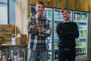 Wil Aitken and Mark Rennie, of  ABV Craft Drinks