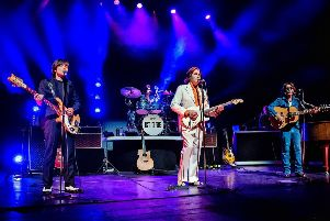 Let It Be: A Celebration Of The Music Of The Beatles is at His Majesty's Theatre in May. (Photo: Anthony Robling)