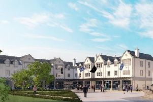 Trump Internationals proposal which would also see a minimum of 50 leisure resort units created alongside community facilities  including a town hall and gym, shops, offices and food and drink outlets