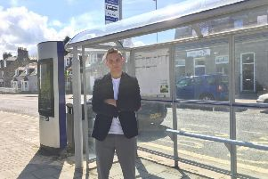 Councillor Robbie Withey is seeking a radical new solution to public transport in rural areas