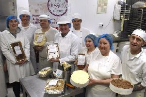 Staff from the Dessert Depot