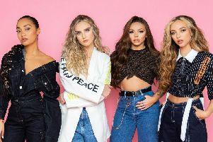 Little Mix will appear at Aberdeen's Hazlehead Park on Sunday, July 26.